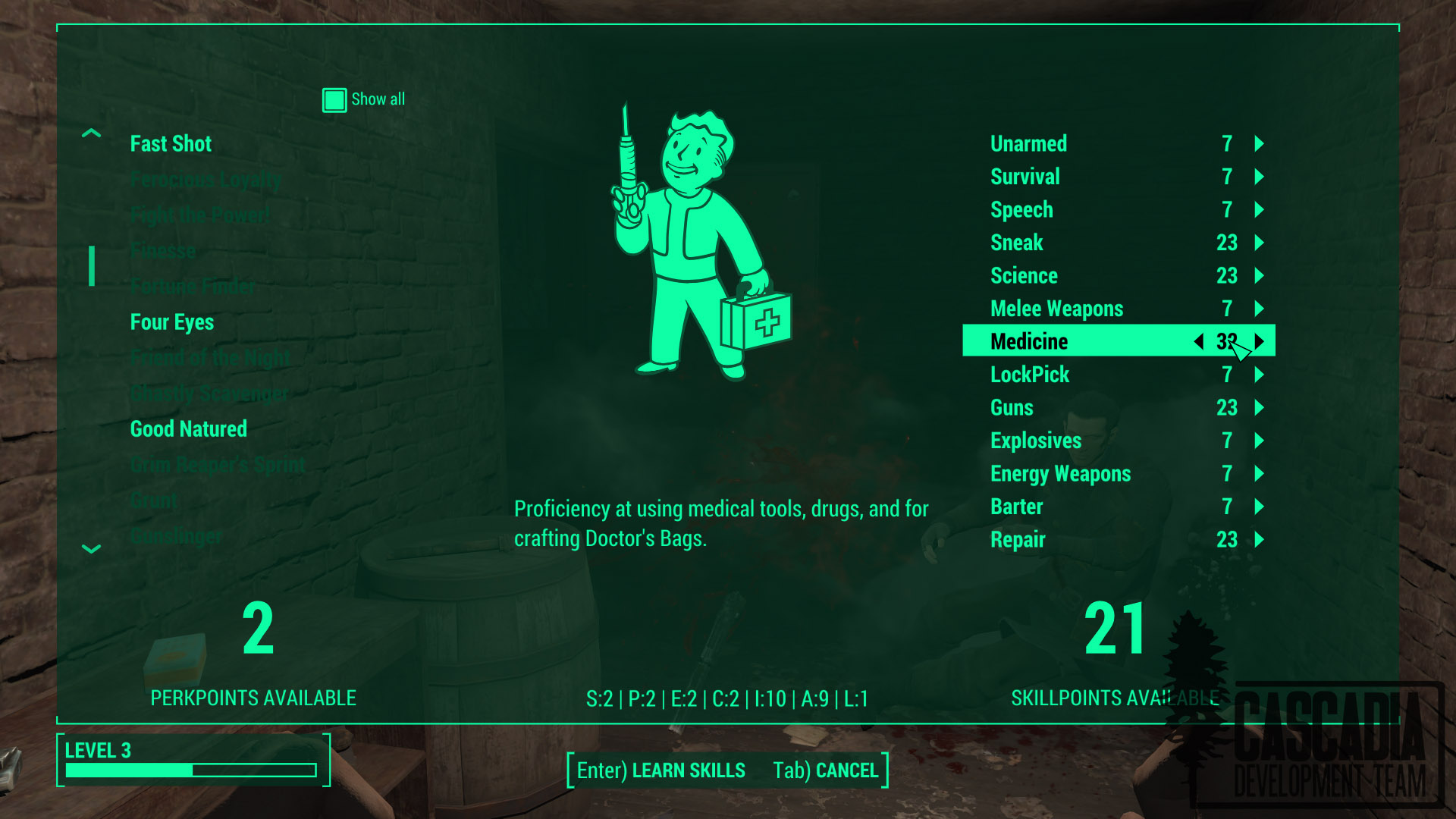 Fallout 4 modders are bringing skills back to the wasteland | PC Gamer