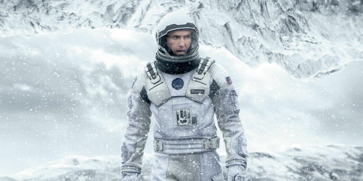 Matthew McConaughey in Interstellar