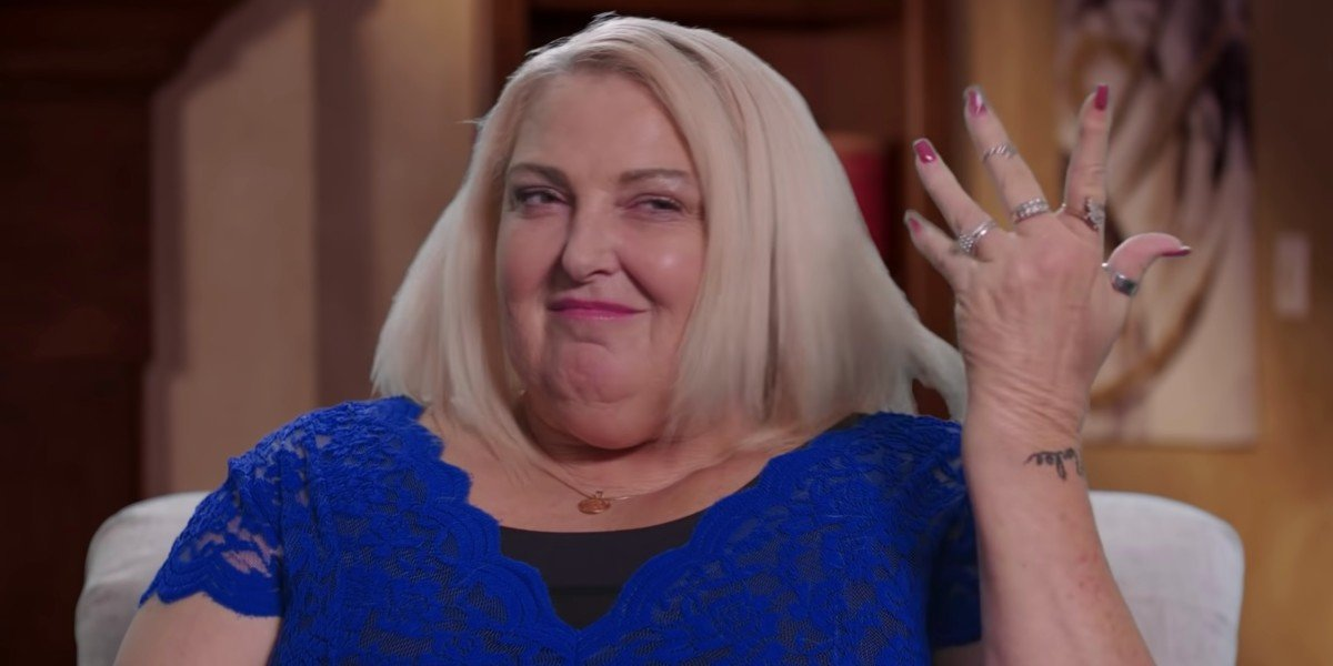 Angela Deem looking sassy 90 Day Fiance: Happily Ever After? TLC