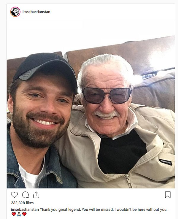 Sebastian Stan, Stan Lee