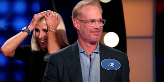 Joe Buck and his family react on Celebrity Family Feud