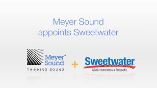 Meyer Sound Appoints Sweetwater Sound as New Authorized Dealer