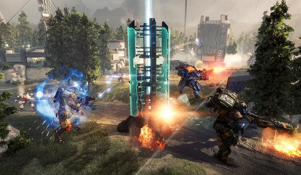 Titans play Frontier Defense