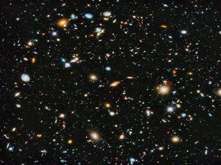 Hubble Ultra Deep Field 2014 - 1000