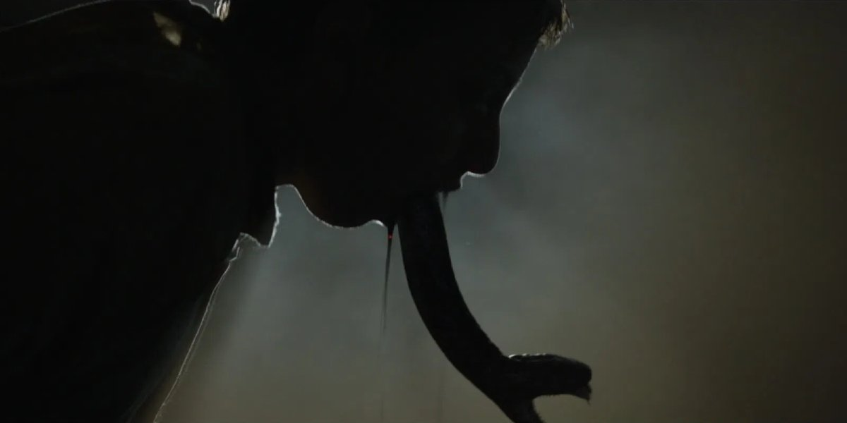 A monstrous scene from The Nun