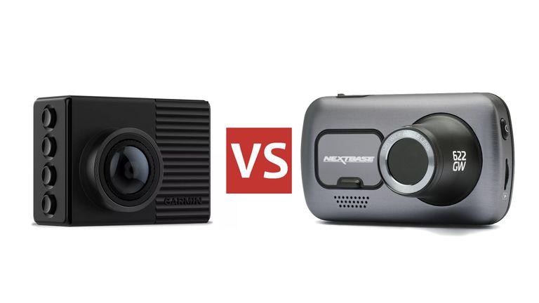 Garmin 66W vs Nextbase 622GW dash cam