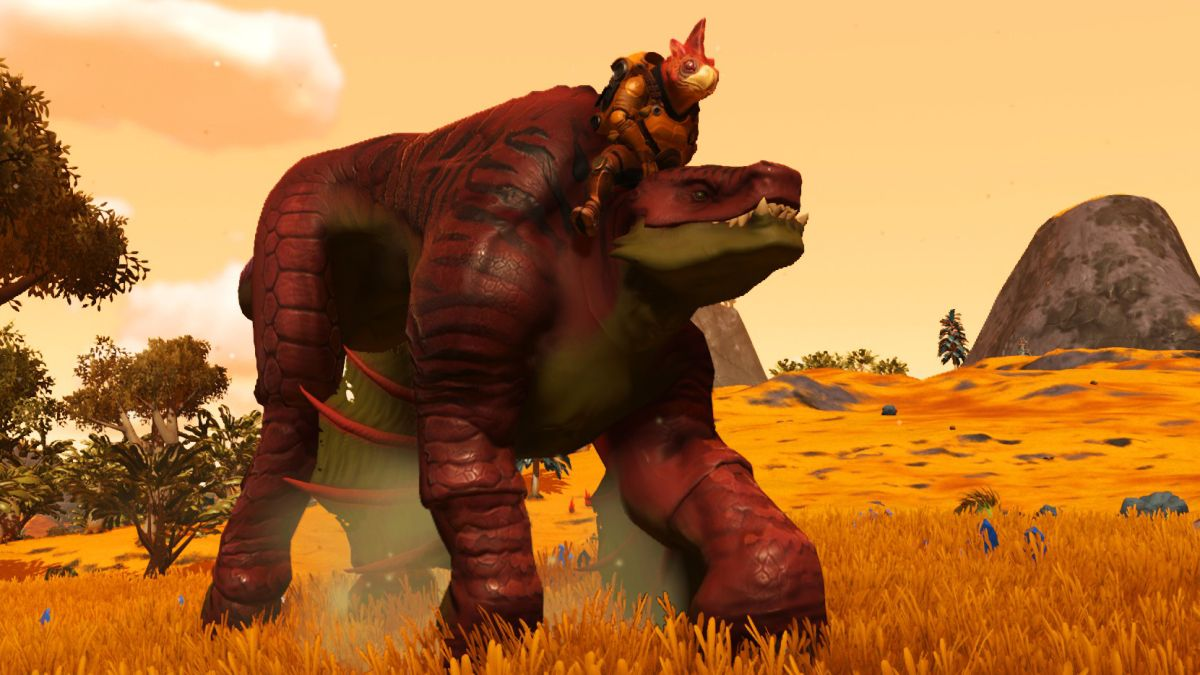No Man's Sky Beyond: How to ride creatures