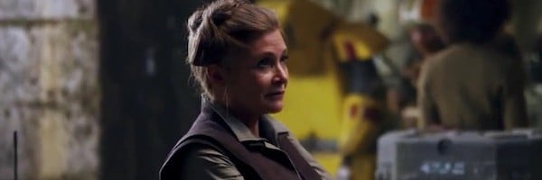 Star Wars The Force Awakens Leia Organa first look