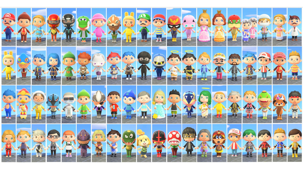Animal Crossing New Horizons Player Recreates Every Character