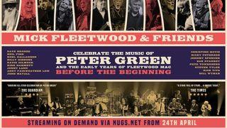 Mick Fleetwood & Friends concert poster