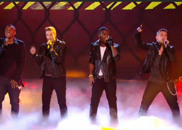 X Factor finalists tackle Halloween theme