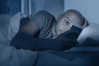 smartphone, bed, phone, sleep