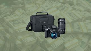 Pick up the Canon EOS Rebel T6 with two lenses for just $399!