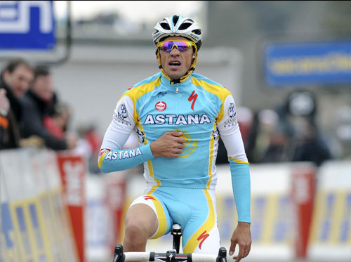 Alberto Contador, Paris-Nice 2010, stage four