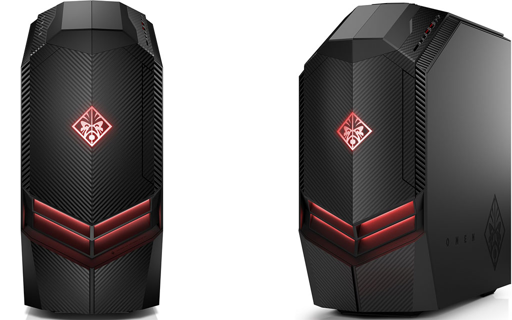This HP Omen desktop with a Core i7-8700 and GTX 1070 is on