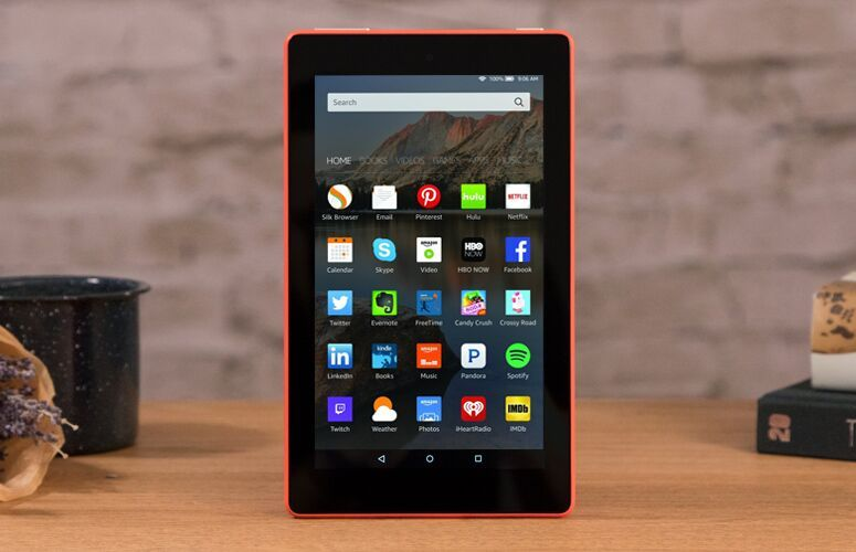 Amazon Fire 7 Tablet 2017 Review Very Good For The Cheap Price Laptop Mag