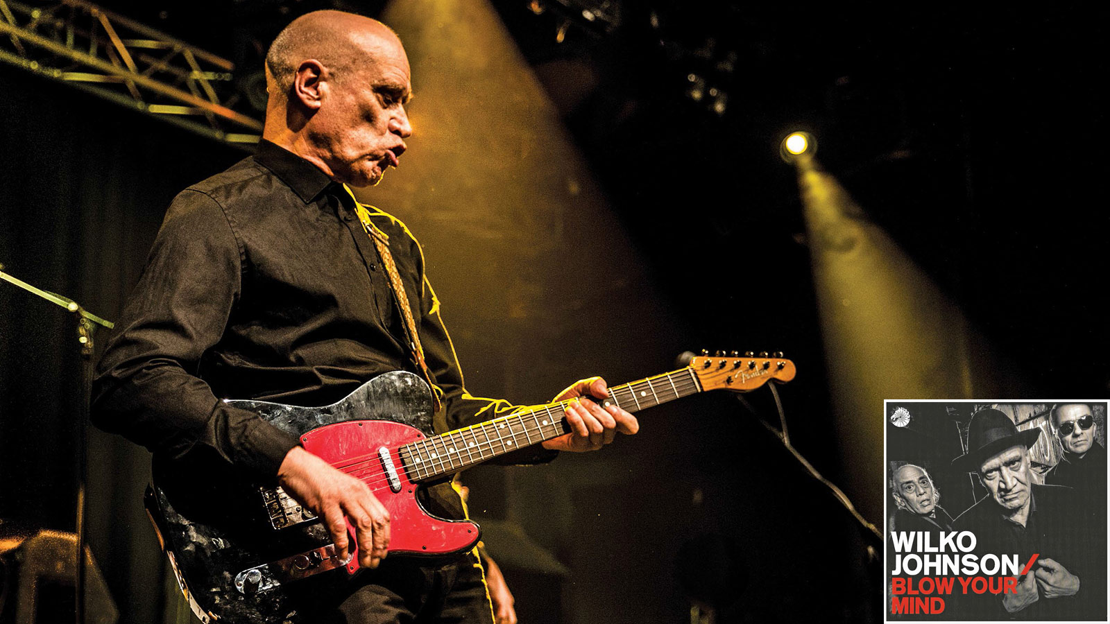 Tele-Meister Wilko Johnson Is Ready, Willing and Able to 'Blow Your Mind'
