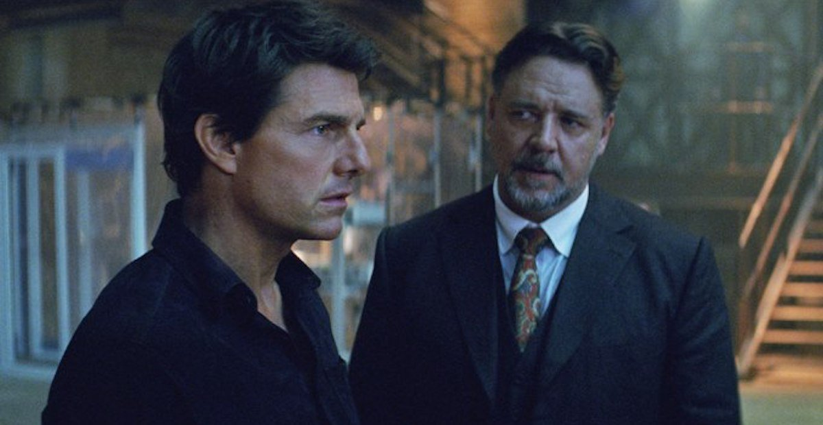 The Mummy's Russell Crowe and Tom Cruise