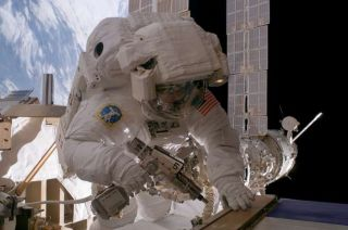 ISS Astronauts Set for Sunday Spacewalk