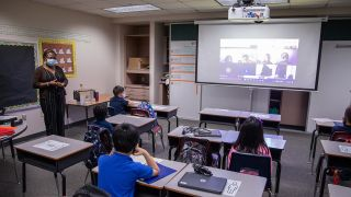 LW Series BlueCore projectors at Spring Independent School District