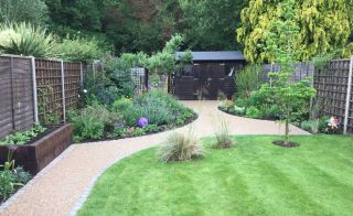 Resin bound paving from SureSet