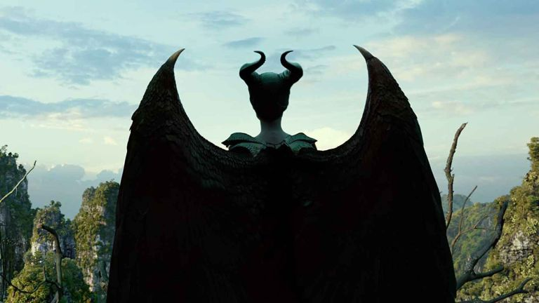 Disney Plus: Maleficent from behind