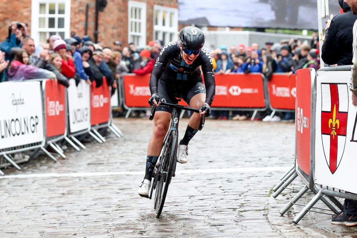 Pfeiffer Georgi wins British National Road Championships