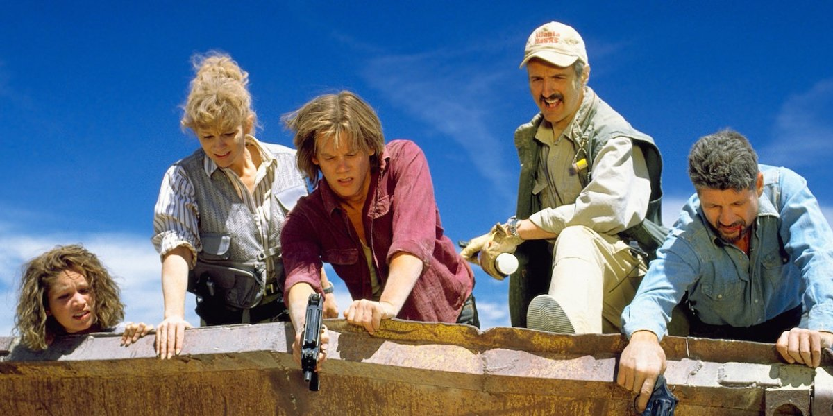 Kevin Bacon and the Tremors cast