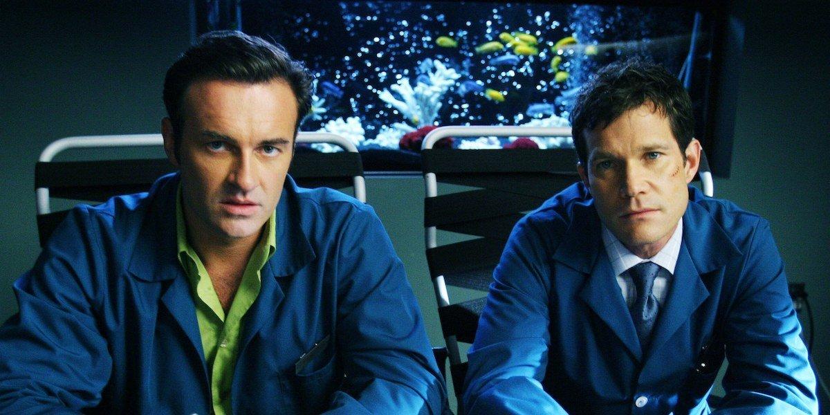 The two main stars of Nip/Tuck.