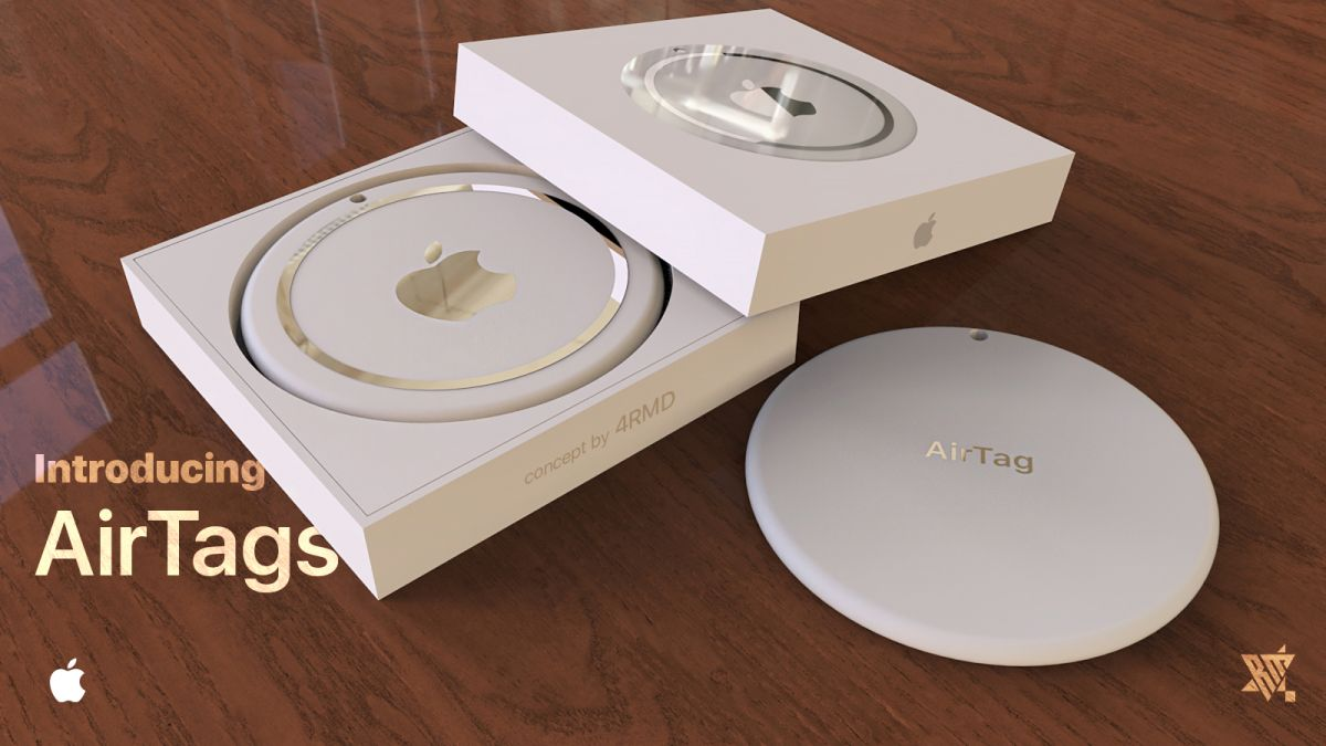 Airtags Concept Images Show Us What Apple S Trackers Could Look Like Tom S Guide
