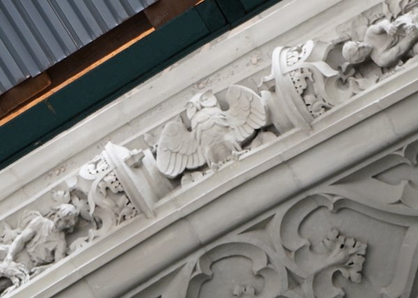Woolworth building owl