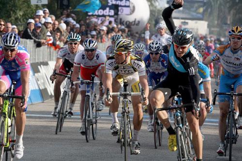 Edvald Boasson Hagen wins, Tirreno-Adriatico 2010, stage seven