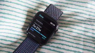 watchOS 7 sleep tracking