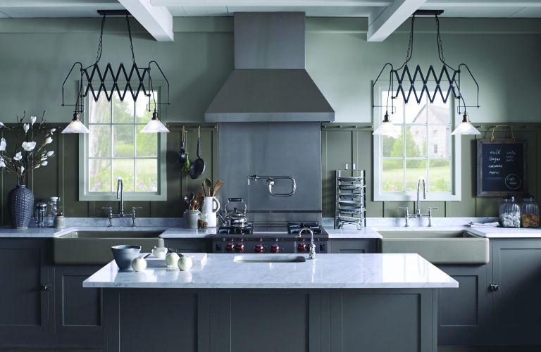 benjamin moore stonington gray kitchen