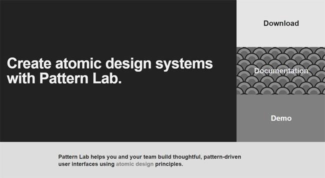 Pattern Lab screengrab