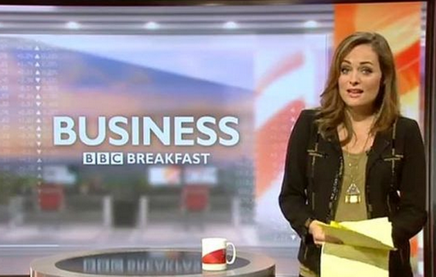BBC presenter Victoria Fritz goes into labour after live broadcast
