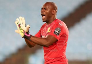 Mamelodi Sundowns goalkeeper Denis Onyango