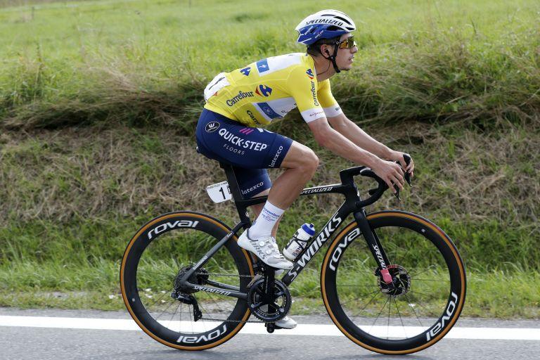 João Almeida on stage four of the Tour of Poland 2021