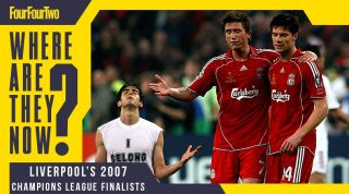 Liverpool 2007 Champions League final