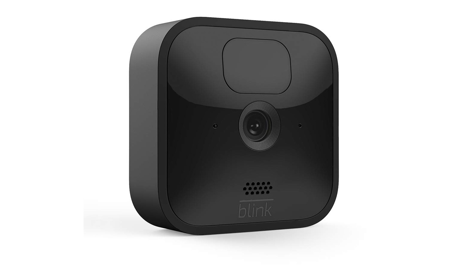 The Blink Outdoor camera on a white background