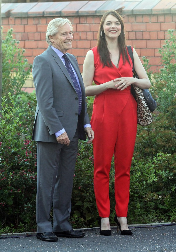 William  Roache and Kate Ford