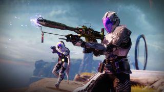 Destiny 2 Bungie image hunter warlock season of the lost exotic weapon