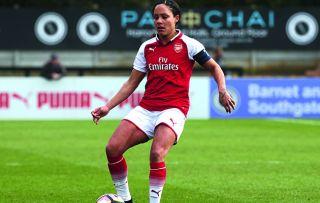 Arsenal Captain Alex Scott Women's FA Cup Final