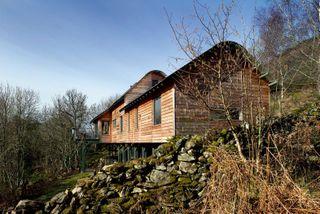 An organic contemporary home on a stunning hillside setting