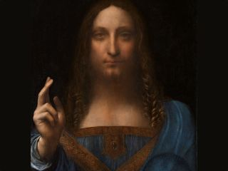 "Leonardo da Vinci's ""Salvator Mundi"" sold for $450 million in 2017."