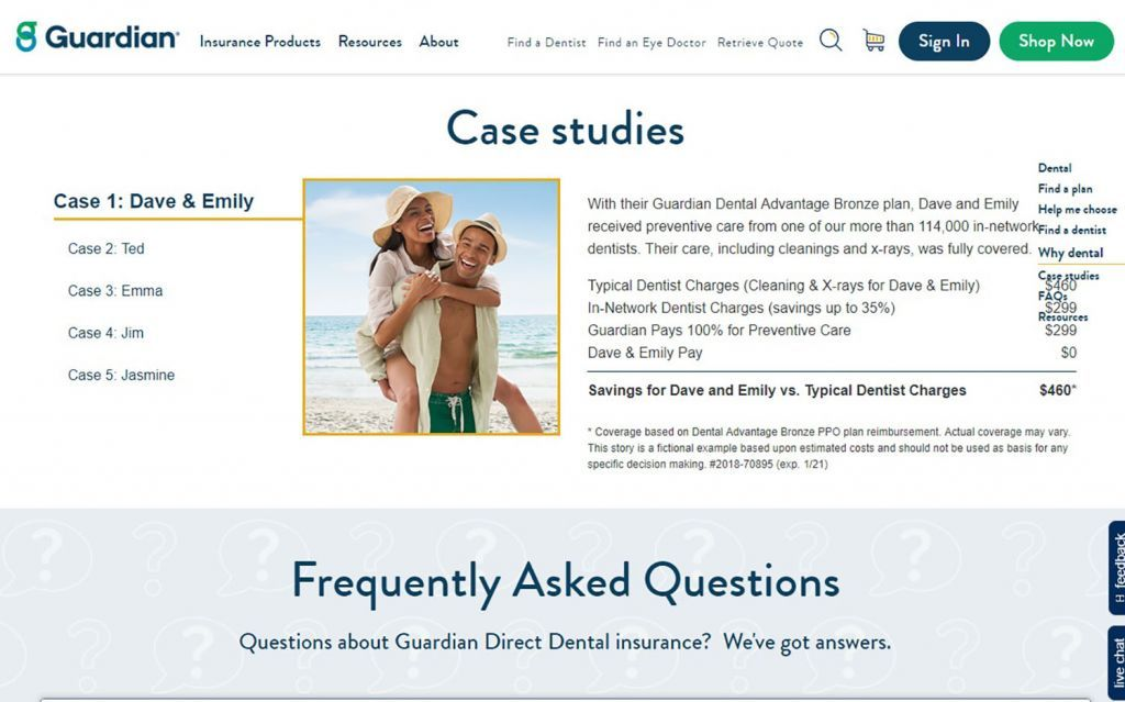 Guardian Dental Care Review - Plans, Premiums and Limits | Top Ten