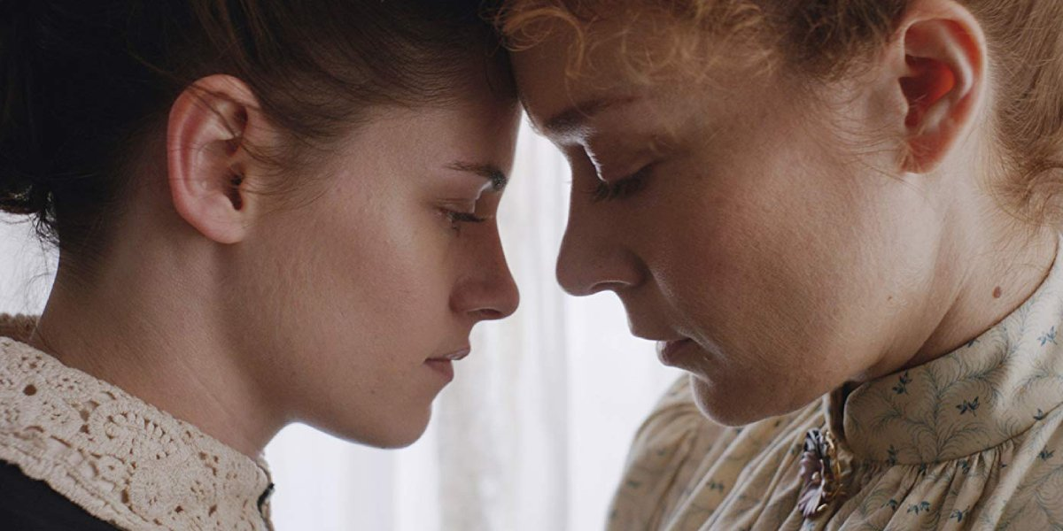 Kristen Stewart and Chloë Sevigny in Lizzie