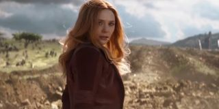 Wanda Maximoff feeling confident after saving Black Widow and Okoye from Thanos' forces in Avengers: Infinity War Ok