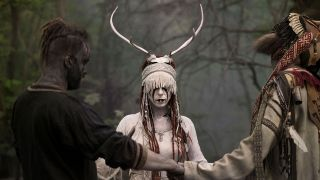Heilung with antlers