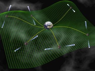 The NANOGrav project is attempting to detect gravitational waves via the close observation of an array of pulsars.